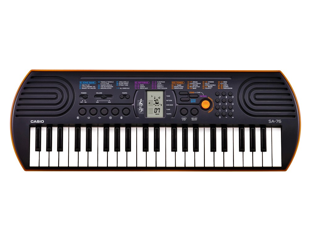 casio Keyboard SA 76/77/78