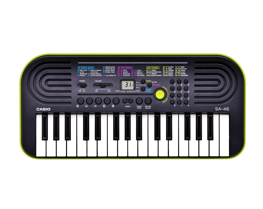 Casio Keyboard SA 46/47